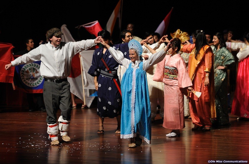 International Cultural Night at the Ford Center