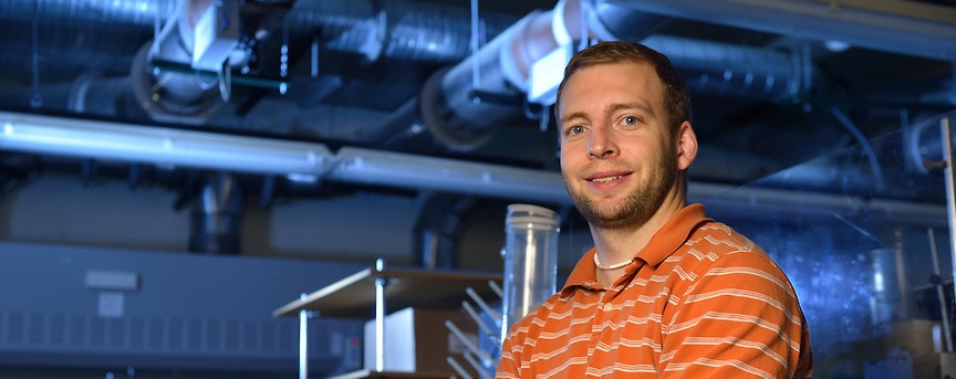 Read about Featured Researcher Jared Delcamp, Solar Energy